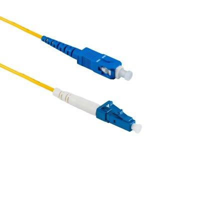 1M LC/UPC auf SC/UPC Simplex OS2 SMF