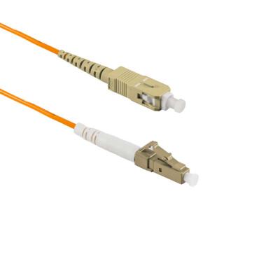1M LC/UPC auf SC/UPC Simplex OM2 MMF