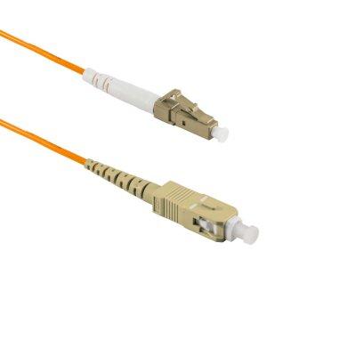 1M SC/APC to LC/UPC Simplex OM2 MMF