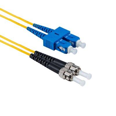 1M ST/UPC to SC/UPC Duplex OS2 SMF