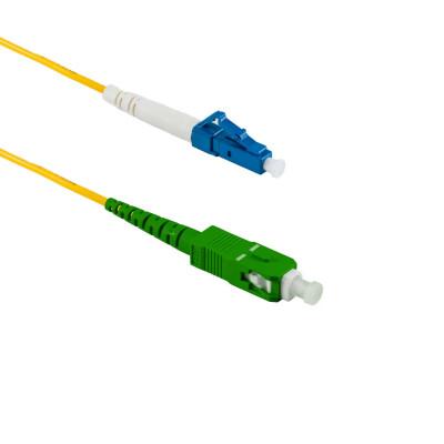 2M SC/APC auf LC/UPC Simplex OS2 SMF