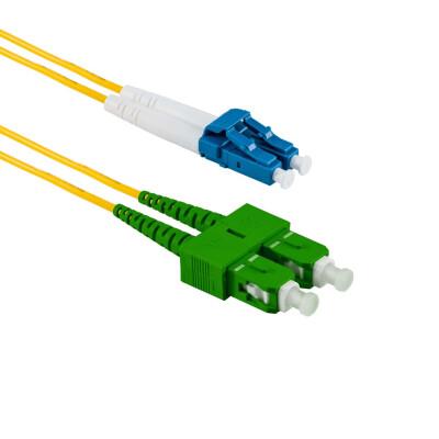 2M SC/APC auf LC/UPC Duplex OS2 SMF