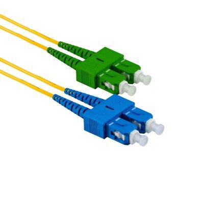 2M SC/UPC auf SC/APC Duplex OS2 SMF