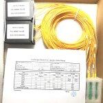 1:2 PLC-Splitter, Single Mode 2,0 mm